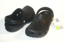 $35 Crocs Classic Cayman Black Women Sizes M4/W6 M5/W7 M6/W8 M7/W9 M8/W10 SALE!!
