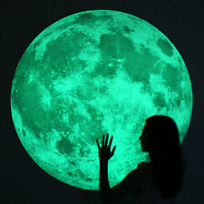 Large/XL Glow Moon Light Wall Stickers - FREE P&P