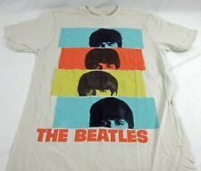 Mens NEW The Beatles Rock Short Sleeve Band Logo Graphic T-Shirt Size S M L XL