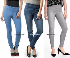 Womens Girls Stretch Skinny Jeggings Jeans Denim Leggings Sizes UK 6 - 20  BNWT