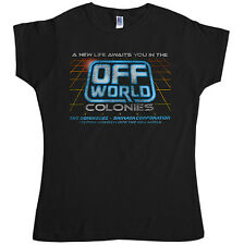 New Womens T Shirt -  Inspired by Blade Runner T Shirt - Off World Colonies