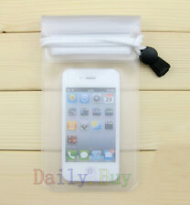 Clear Waterproof Dry Bag Pouch Case Cover for Cell Phones Phablet 2013 new