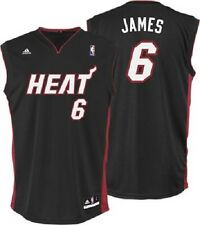 NBA Basketball Trikot/Jersey Revolution30 MIAMI HEAT Lebron James #6 black