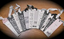 East of India Book Marks various designs bookmark inspirational words gift