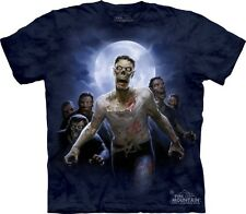 Zombie Horde Attack Walking Dead Authentic The Mountain Adult T-Shirt