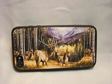 BULL ELK AND HERD   IMAGE 1 FITS IPHONE 4, 4S IPHONE  OR IPHONE 5 CASE