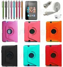 "PU Case Cover for Amazon Kindle fire HD 7"" 1st Gen.(not for 2nd Gen.), free film"