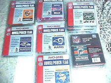NFL HOUSE/PORCH FLAG ASSORTED TEAMS NEW IN PACKAGE BEST PRICE IS HERE