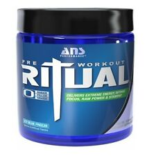 ANS Performance RITUAL Pre-Workout Beta Alanine Creatine 45 Servings 2 FLAVORS