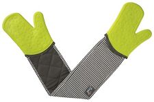 Steam Stop Silicone Waterproof Double Oven Gloves Stripe by Zeal
