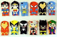 SuperHeroes Silicone Rubber Back Cover Case For Apple iPhone 5  - UK SELLER