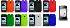 LCD Guard +Hard Cover Case for Huawei Prism 2 II T-Mobile Prism 2 II U8686 Phone