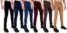 MENS SUPER SKINNY STRETCH PUNK RETRO TWILL CHINO JEANS by ARRESTED DEVELOPMENT