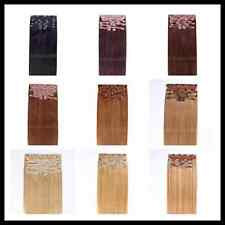 """Deluxe 20"""" Indian Remy Full Head Human Hair Clip In Extensions 9pcs & 200g"""