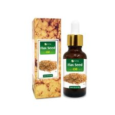 FLAX SEED OIL 100% NATURAL PURE UNDILUTED UNCUT CARRIER OIL 5ML TO 100ML