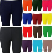 Womens Plus Size Cycling Shorts Over Knee Length Hot Pants shorts Tights 16-26