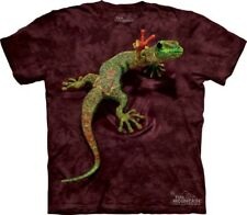 Peace Out Gecko Lizard Youth Kids Child Authentic The Mountain T-Shirt