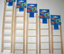 Wooden Bird ladder budgie canary cage accessories 5 sizes- Hamster cage Rodent