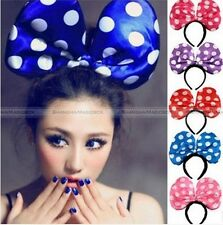 Fashion Accessories Kids Big Bow-knot Cosplay 3 Mode Flash Head Hairband TOY005