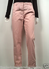 Women's Pink 3/4 Length Wild Chino Cotton Trousers -FCUK French Connection 74JZT