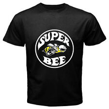 New Super Bee Logo Vintage Dodge Classic Muscle Car Black T-Shirt Size S to 3XL