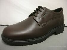 Men's Sioux Svante-Gore Brown Gore-Tex Leather Formal Lace-up Shoes UK 7-11 G