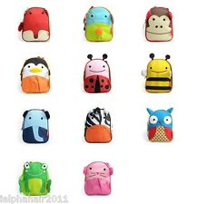 NEW Kids Toddler Cute Animal Zoo Insulated Lunch Bag Lunch Box School Nursery