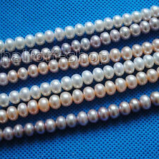 WHOLESALE 8-9MM ROUND FRESHWATER PEARL STRAND NATURAL
