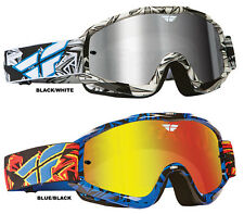 "FLY RACING ""ZONE PRO"" 2014 GOGGLES MX ATV OFFROAD GOGGLE ANTI-FOG EYE PROTECTION"
