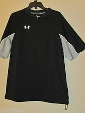 Under Armour Contender Jacket Mens Cage Baseball Asg 1232952 Black 010 S-XL nwt