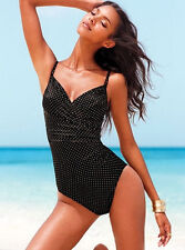 Magicsuit One Piece Underwire Black+Gold Miracle Swimsuit Swimming Costume