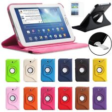 """For Samsung Galaxy Note 8.0 Rotating 360 Case Cover w/ Stand 8"""" GT-N5100 / N5110"""
