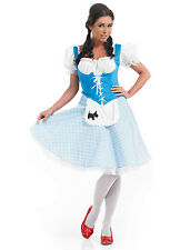 WOMENS DOROTHY COSTUME,TV, FILM, BOOK COSTUMES, PLUS SIZE,8,10,12,14,16,18,22,24