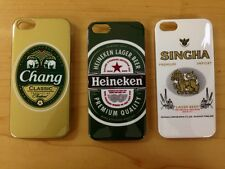 New Beer Collections Chang Singha Heineken Thailand Cover Case Apple for iPhone5