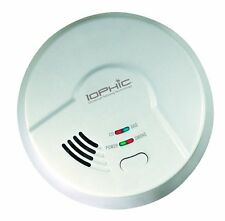 """New"" USI - MDSCN111 4-in-1 IoPhic Smoke, Fire, CO and Natural Gas Alarm"