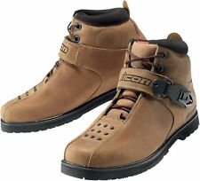 *Fast Shipping* ICON SuperDuty 4 Boot (Brown) Motorcycle Boots