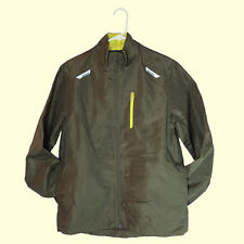 NWT Active by Old Navy Windbreaker/Rain Olive Green Light Running Jacket S/L