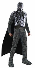Deluxe GENERAL ZOD Superman Man of Steel Soft Latex Costume Mask Shirt Cape