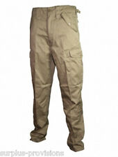 New Khaki BDU Army Cargo Pants - Choice of sizes - Military type #SL-2306