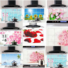 Creative Home Life Aluminum Foil Water Oil Proofing Paster Wallpaper Kitchen New