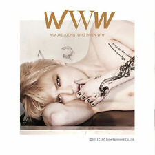 KIM JAE JOONG - WWW (Who, When, Why) 1st Album [CD + Poster + Gift]