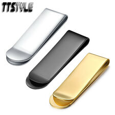 High Quality TTstyle 316L Stainless Steel Money Clip Choose Colour