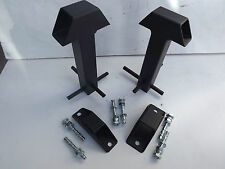 MOTORCYCLE GROUND ANCHOR, BOLT DOWN/CEMENT IN GROUND FOR MOTORBIKES