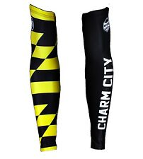 """Hill Killer Apparel Baltimore """"Charm City"""" Arm Warmers - Cycling - Running"""