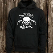 Biker Hell on Wheels hoodie design skull bikers code ride ride loud present hood