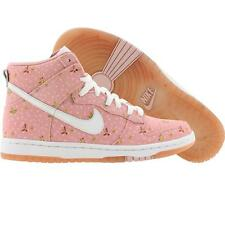 Nike Women Dunk High Skinny Supreme  ND TZ (pink glaze / white) 370354-611