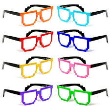 Lot of 12 Minecraft Glasses Pixelated Assorted nerd party favor birthday 9289