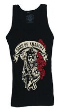 Sons Of Anarchy Rose Reaper Samcro Officially Licensed Junior Tank Top Shirt