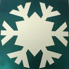 SILICONE DINING POT STAND PLACE MAT TRIVET 34CM SNOWFLAKE CHRISTMAS