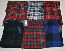 POLO RALPH LAUREN Mens Flannel Pajamas Sleepwear Lounge Pants S M L XL NWT